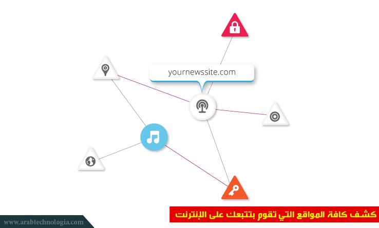 كشف كافة المواقع التي تقوم بتتبعك على الإنترنت - مجلة عرب تكنولوجيا